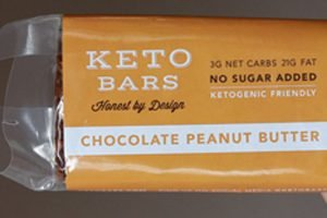 keto bar chocolate peanut